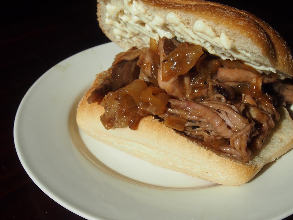 Sous Vide Paseo-Inspired Caribbean Sandwich